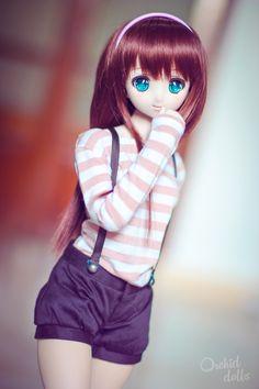 Millhe (Dollfie Dream Sister Millhiore) | http://orchiddolls.wordpress.com/