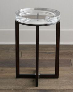 """Pierce"" Side Table at Horchow."