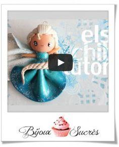 Tuto vidéo : La reine des neige en Fimo