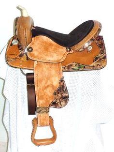 Camo Barrel Saddle