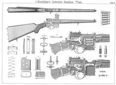 Mannlicher semiauto Carbine poster.