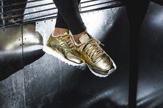 Reebok - x FACE Stockholm Classic Leather Spirit (gold) - V70668