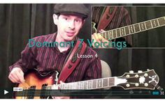 How To Play Dominant 7 Chord Voicing's #chords | www.elmore-music.com