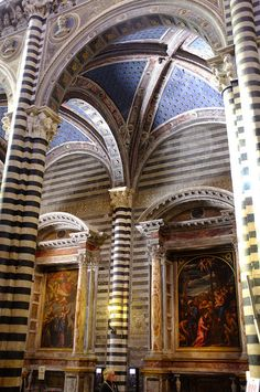 Duomo Structural Details, Sienna, Italy