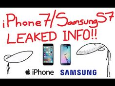 iPhone 7 & Samsung S7 - LEAKED PHOTOS & DETAILS (Gone Sexual!) - YouTube