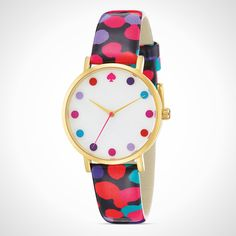 Color, color, color! This fun watch will catch everyone's attention.