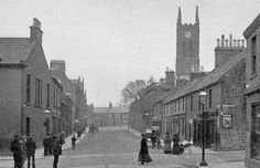 Tour Scotland Photographs: Old Photograph Jarvey Street Bathgate Scotland