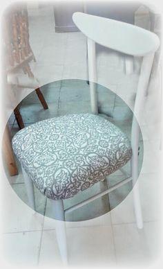 1000 images about sillas retapizadas on pinterest antigua showroom and blue dining rooms - Sillas antiguas restauradas ...