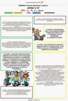 ENTENDEU DIREITO OU QUER QUE DESENHE ???: DIREITOS E GARANTIAS FUNDAMENTAIS - ARTIGO 5º