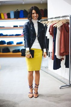Yellow pencil skirt is calling my name