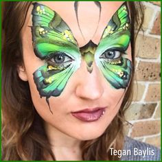 "Everything Face And Body Art (@sillyfarm) on Instagram: ""Love everything about this picture... #silkyfarm #facepaints #facepainters #butterfly…"""