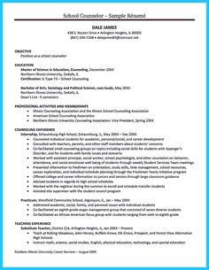 nice Outstanding Counseling Resume Examples to Get Approved,