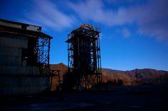足尾銅山 硫酸工場