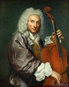 Giacomo Ceruti - Bildnis eines Cellospielers