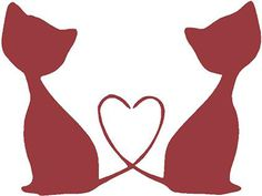 Heart Cats | Wall Decals