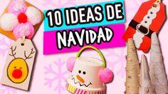 ¡10  Ideas para Navidad Super Fáciles! | Manualidades para Navidad | Catwalk - YouTube