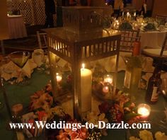 Candle Wedding Centerpiece Ideas Picture