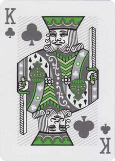 King of Clubs from DeckStarter® Brand Playing Cards