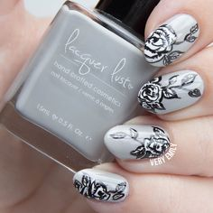 Very Emily » Paint All The Nails Presents Monochrome