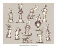 Drôles de lapins ! www.minitreehouse.blogspot.com
