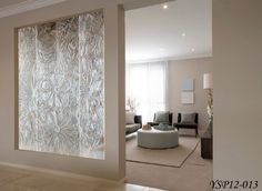 Glass Room Partitions art glass room dividers | clear tempered glass multi motion