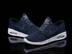 9b9a8ad79c Nike SB Stefan Janoski Max Midnight Navy White Mens Womens Shoes,Nike SB  Stefan OnSale
