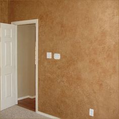 i have done this technique in my hallway and love it looks like leather faux painting - Faux Finish Paint