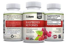 Vitakore Premium All Natural 100% Pure Raspberry Ketones 500 mg - Best Fat Bu... #Vitakore