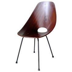 Medea chair designed by Vittorio Nobili and produced  by Fratelli Tagliabue in 1955.