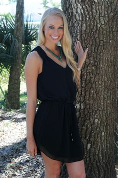 $43 TRUTH ABOUT LOVE Little Black Dress - Shop Simply Me Boutique – www.SHOPSIMPLYME.com  Free Shipping #shopsimply