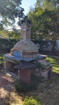 Pizza oven in Florida via the #FornoBravo Forum