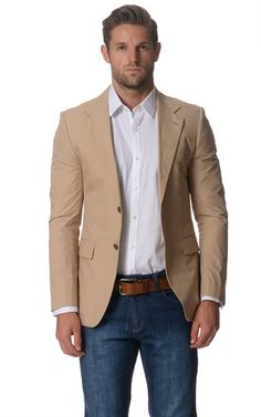 Raoul Khaki Cotton 2 Button Slim Fit Suit. Price was $602 and is now $139. Spotted at Ozsale.