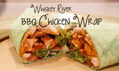 Whiskey River BBQ Chicken Wrap (Red Robin copycat recipe!)