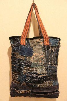 japanese sashiko boro bag by oldindustrial12 on Etsy