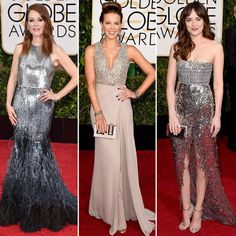 Golden Globes Red Carpet Trends: The Looks That Ruled the Red Carpet  #InStyle Modern Metallics