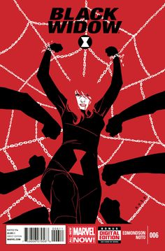 Black Widow Vol. 6 # 6 by Phil Noto