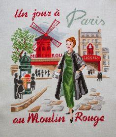 My KINCSESLÁDÁM Un Jour Paris Moulin Rouge n - Veronique Enginger!