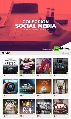 """Consulta este proyecto @Behance: """"Social Media - Trabajos Destacados""""…"""