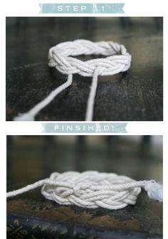 DIY: Pulseira nó de marinheiro por dee