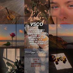"""filtros pαrα tu feed* ♡・゚✧ en Instagram: """"VSCO: este filtro es hecho solo con ajustes. Es un filtro tan wow que quedara muy bonito en cualquiera de las fotos en donde lo utilicen.…"""" Photography Filters, Photography Editing, Lightroom, Foto Filter, Fotografia Vsco, Best Vsco Filters, Aesthetic Filter, Vsco Themes, Photo Editing Vsco"""
