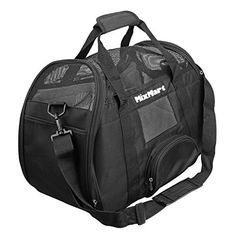 MixMart Softsided Airline Approved Pet Carrier Travel Bag for Dogs Cats and Other Small Animals ** See this great product.