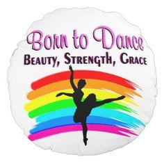 GRACEFUL BALLERINA DESIGN ROUND PILLOW http://www.zazzle.com/mysportsstar/gifts?cg=196731183449491704&rf=238246180177746410    #Dancer #Dancing #Dancergifts #Ballet #Ilovedancing #Ballerina #Ballerina #Ballet