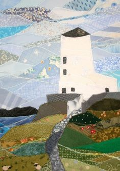 These beautiful pictures of Wales were created in textiles by hammer attack survivor Josie Russell - Wales Online