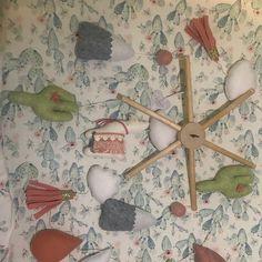 Emily Pinal added a photo of their purchase Totoro Nursery, Whale Nursery, Ocean Nursery, Nursery Crib, Elephant Nursery, Baby Elephant, Baby Mobile Felt, Felt Baby, Cactus Rock