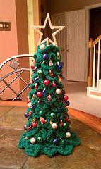 Crocodile Stitch Christmas Tree