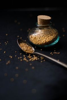mustard seeds | food photography