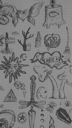 weird doodles 👁🧍🏻♀️