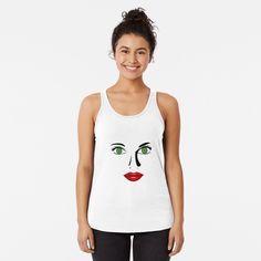 #greeneyeswoman, #greeneyesstickers, #greeneyest-shirts, #greeneyesgraphic #design, #beautifulgreeneyes, #beautiful facesticker, #lovelyfacestickers, #bestsellerstickers, #redlipstickers, #green #eyes #facet-shirts, #facetshirts #mugs #duschevorhang, #faceyogatanktops, #beautifulface #yogatanktopsladies, #ladiesyogatanktop, #facegraphictshirts, #fac illustrations, #lipsstickers, #lippensticker, rote lippen t shirt, sticker, #funny gesicht stickers, lustigestickers mit #motiv, #damengesicht… Biker, Studio, Tank Tops, Beautiful, Design, Fashion, Red Lips, Face, Women's