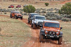 Moab AEV Trail Run