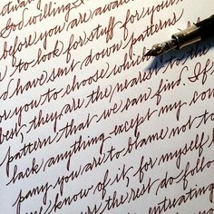 """""""It's been a while since I practiced some easygoing handwriting! So here is a page of a love letter from Thomas Knyvett to his wife Katherine, written in…"""""""